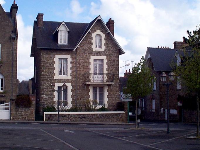 Maison de villégiature dite Ty Laouen, 21 rue de Belle-vue ; 16 rue Adolphe Robin (Cancale)