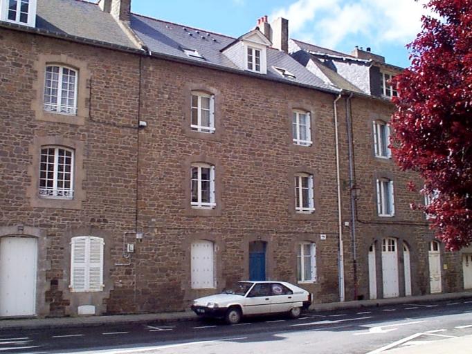 Immeuble, 18 rue Jean-Marie Savatte (Cancale)