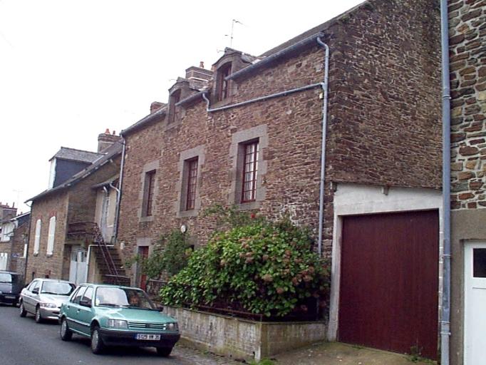 Maison, 24, 26 rue de la Vallée Porcon (Cancale)