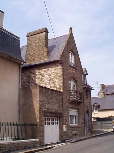 Maison, 10bis boulevard Thiers ; rue des Minquiers (Cancale)
