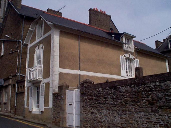 Maison, 4 boulevard Thiers ; 5 rue des Minquiers (Cancale)