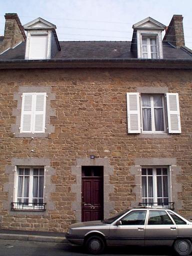 Maison, 11 boulevard Thiers (Cancale)