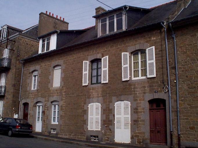 Immeuble à logements, 7, 9 boulevard Thiers (Cancale)
