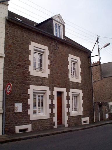 Maison, 19 boulevard Thiers (Cancale)