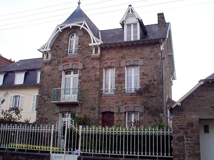 Maison, 23 boulevard Thiers (Cancale)