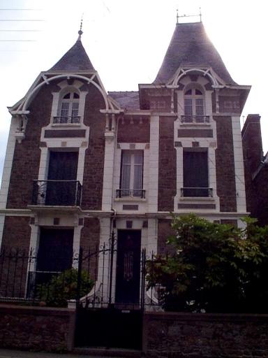 Maison, 25, 27 boulevard Thiers (Cancale)