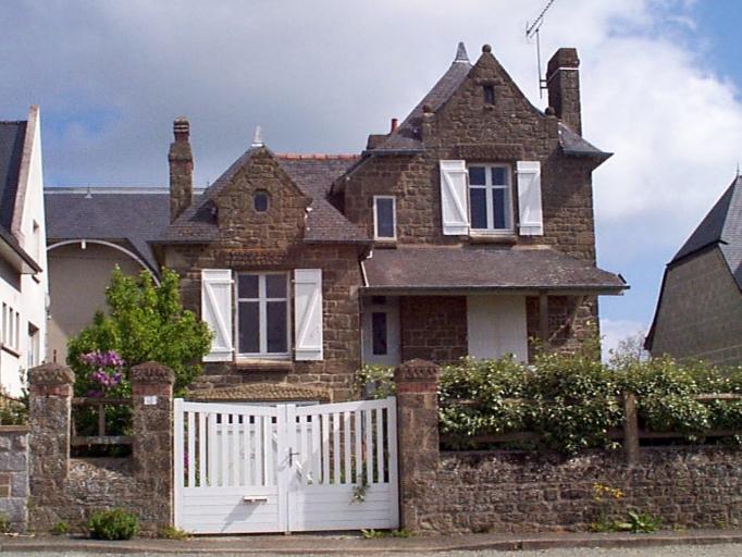 Maison, 49 boulevard Thiers, Pointe des Crolles (Cancale)
