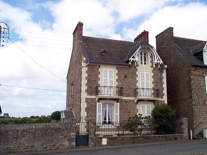 Maison, 50, 52 boulevard Thiers, Pointe des Crolles (Cancale)