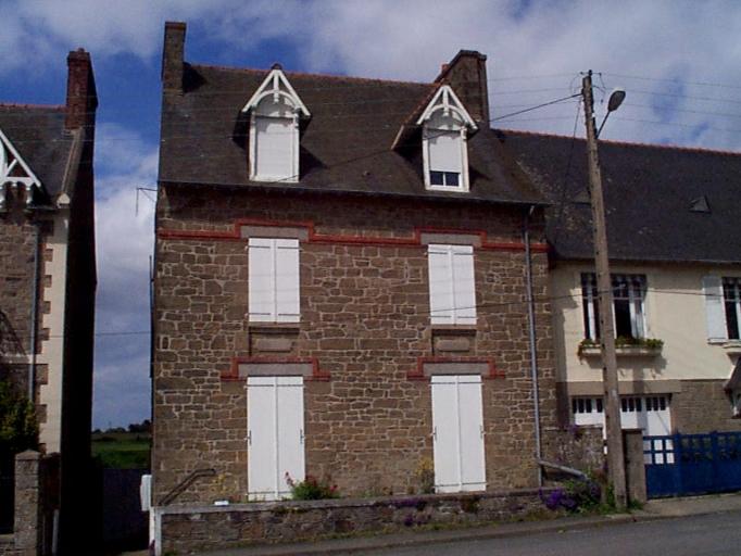 Maison, 48 boulevard Thiers, Pointe des Crolles (Cancale)