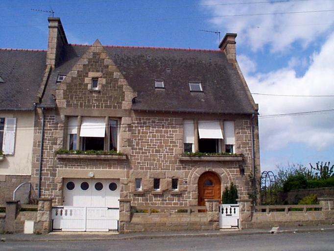 Maison dite Le Brigaou, 44 boulevard Thiers, Pointe des Crolles (Cancale)