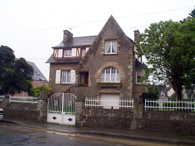 Maison, 30, 32 boulevard d'Armor (Cancale)