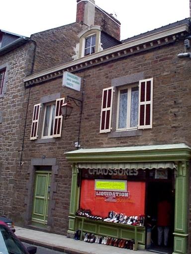 Maison, 14 rue Général Leclerc ; 25 rue du Maréchal Juin (Cancale)