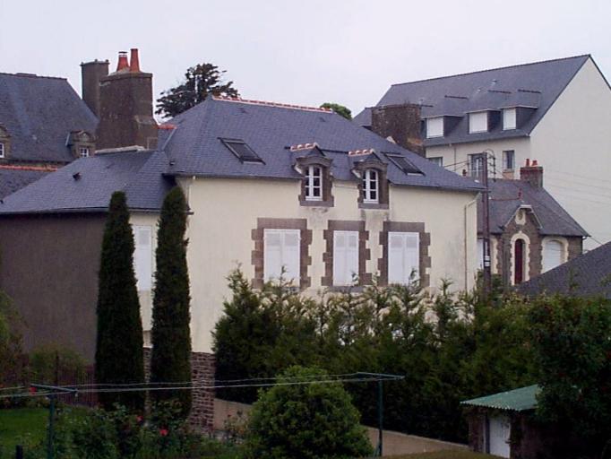 Maison dite Les hortensias, 12 rue du Château Gaillard (Cancale)