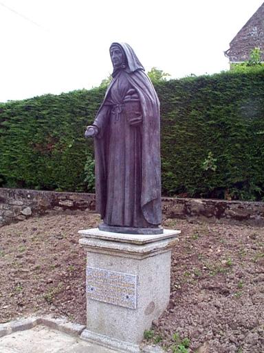 Monument commémoratif à Jeanne Jugan, rue de Saint-Malo ; avenue du Général de Gaulle (Cancale)