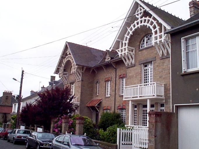 Maisons jumelles, 14, 16 rue Esprit Bailly (Cancale)