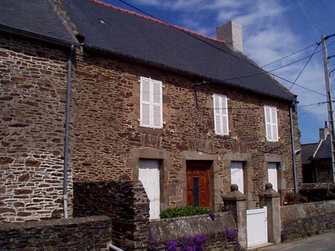 Maison de pêcheur, 22 rue Pierre et Marie Curie, la Forge (Cancale)