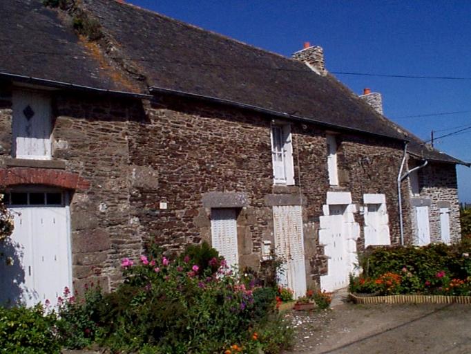 Maison de pêcheur, 7 rue Denis Brunaud, la Ville Garnier (Cancale)