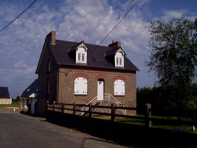 Maison, 4 rue du Château d'eau, les Renardières (Cancale)