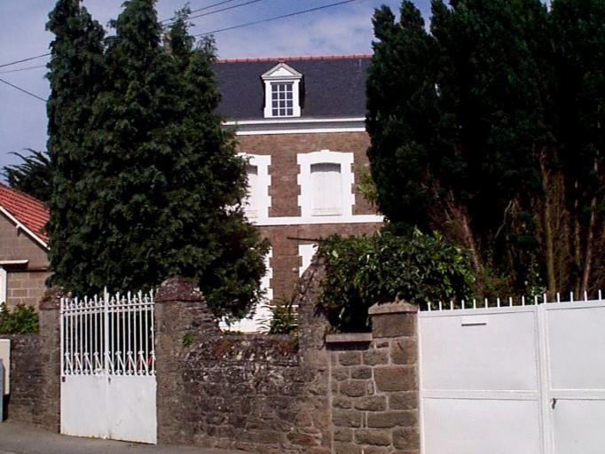 Maison dite La Buzardière, 28 avenue Pasteur, les Renardières (Cancale)