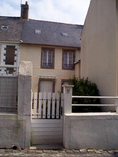 Maison, 11 rue de la Vallée Porcon ; impasse Saint-Méen (Cancale)