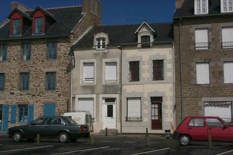 Maison de pêcheurs, 23, 24 quai Duguay-Trouin, la Houle (Cancale)