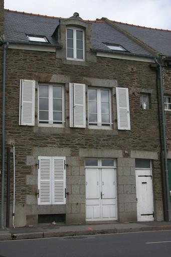 Maison de pêcheurs, la Houle (Cancale)
