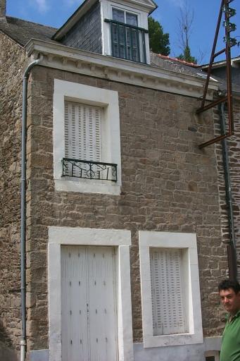 Maison de pêcheur, 88 rue Carnot, la Houle (Cancale)