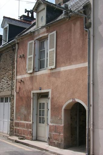 Maison de pêcheur, 78, 80 rue Carnot, la Houle (Cancale)