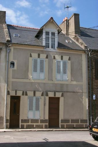 Maison de pêcheurs, 60 rue Carnot, la Houle (Cancale)