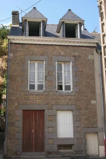 Maison de pêcheurs, 44 rue Carnot, la Houle (Cancale)