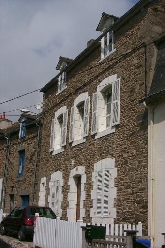 Maison et atelier de voilerie, 12 rue Carnot, la Houle (Cancale)