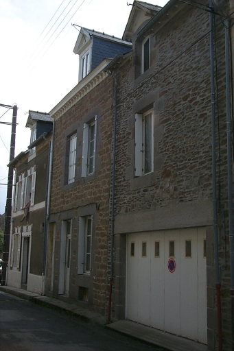 Maison de pêcheurs, 3 rue Amiral Bouvet, la Houle (Cancale)