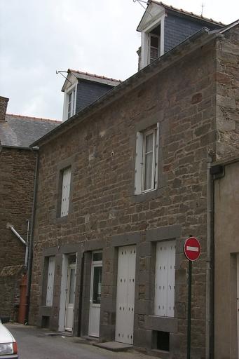 Maison de type immeuble, 3, 5 rue de l' Epi, la Houle (Cancale)