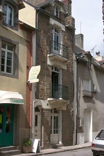 Maison de villégiature, 18 rue Victor Hugo, la Houle (Cancale)