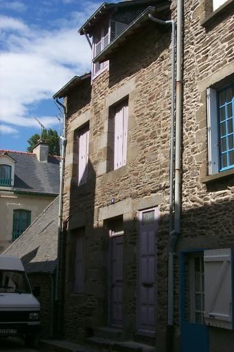 Maison de pêcheurs, 4 rue Alfred de Courcy, la Houle (Cancale)