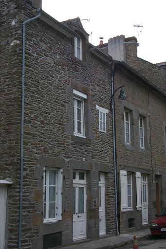 Maison de pêcheurs, 23 rue Victor Hugo, la Houle (Cancale)