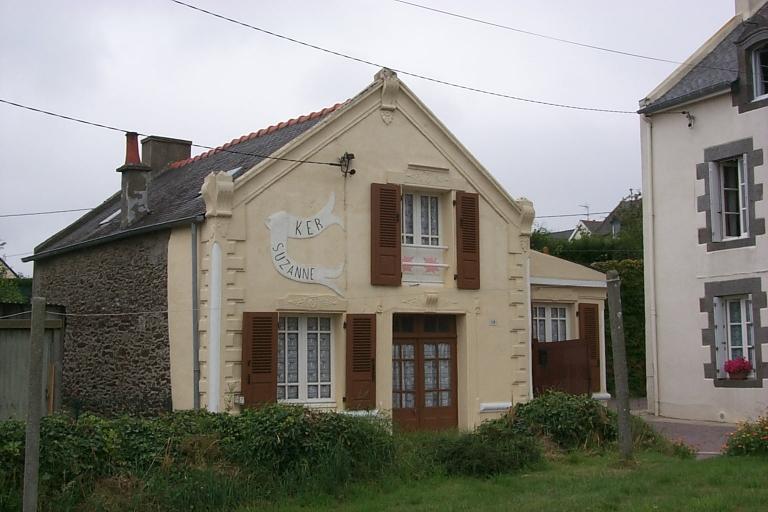Maison dite Ker Suzanne, 19 rue de la Haute-Ville Garnier (Cancale)