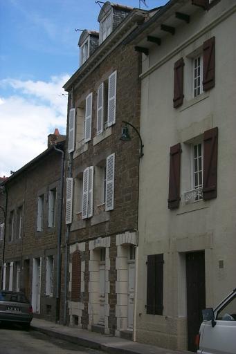 Maison de type immeuble, 27 rue Victor Hugo, la Houle (Cancale)