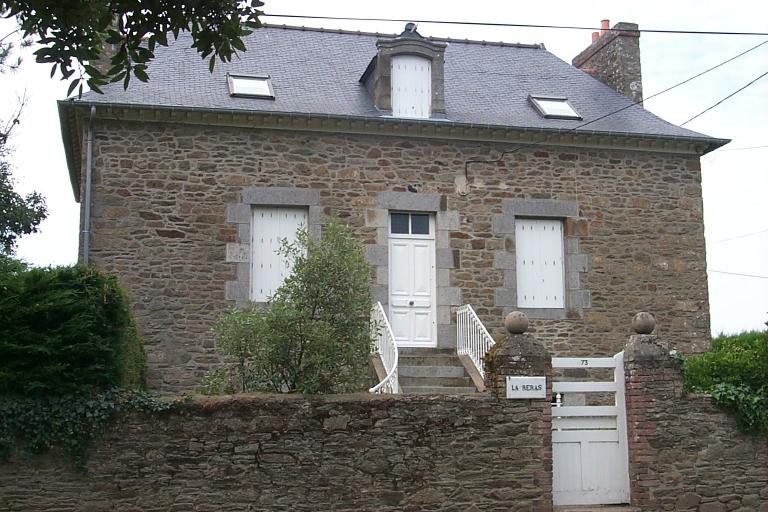 Maison de capitaine (?) dite La Reras, 73 rue des Rimains (Cancale)