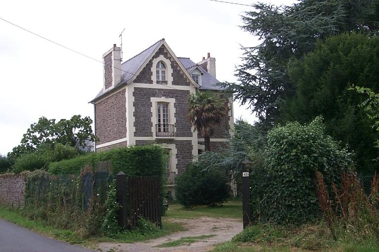 Maison, 42 rue de la Vieille Rivière, la Cours-ès-Girard (Cancale)