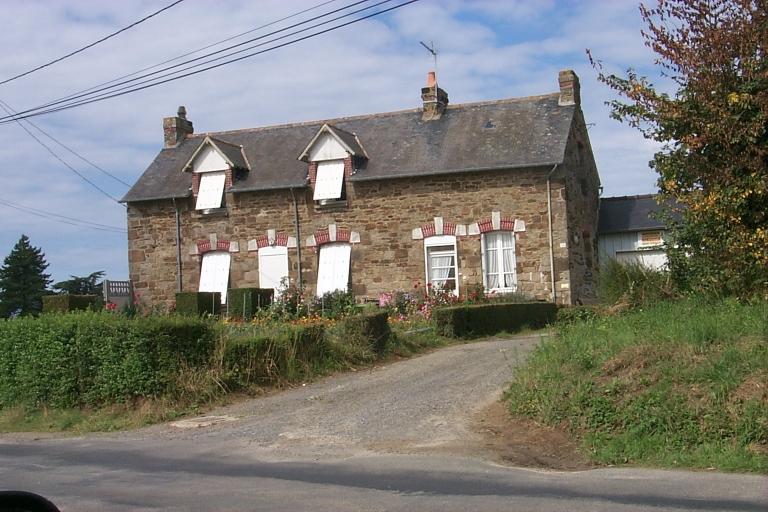 Maison, 112 rue du Verger, la Basse Ville Gueurie (Cancale)