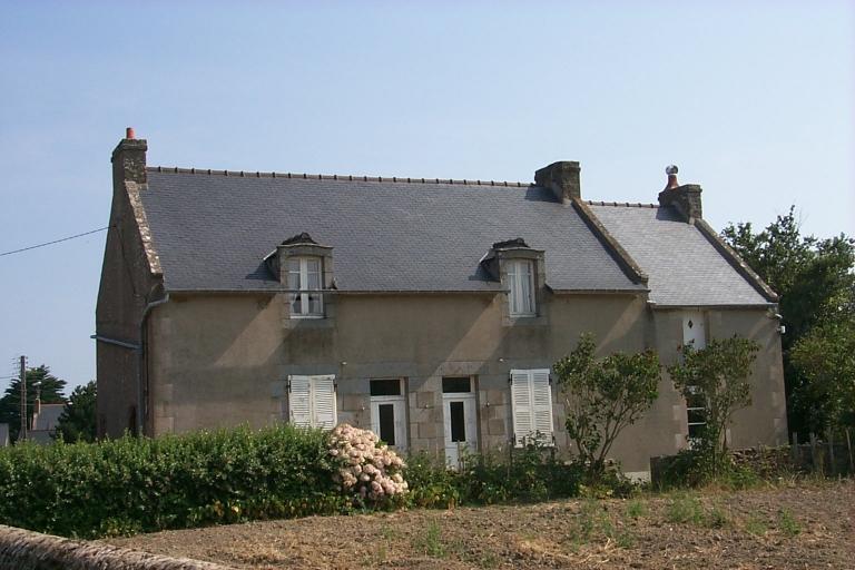 Maison, rue de la Vieille Rivière, la Lorandière (Cancale)