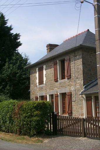 Maison, rue de Hurlevent, le Verger (Cancale)