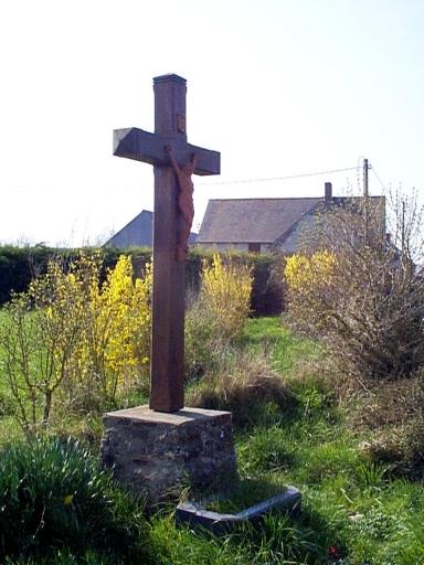 Croix de chemin, l'Aupinière (Hirel)