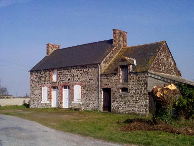 Ferme, 1 route de Château-Berger (Hirel)