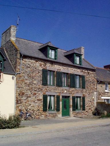 Ferme, 10 rue du Domaine, la Motte (Hirel)