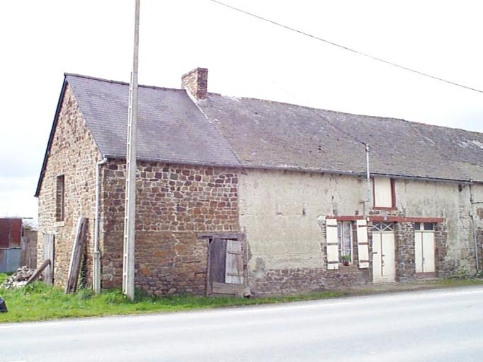 Ferme, Route départementale n° 4, le Fédeuil (Hirel)