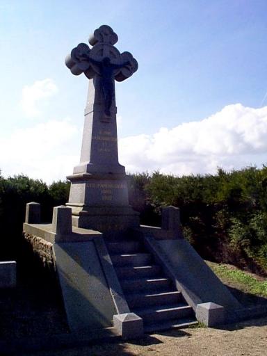 Croix de cimetière (Hirel)