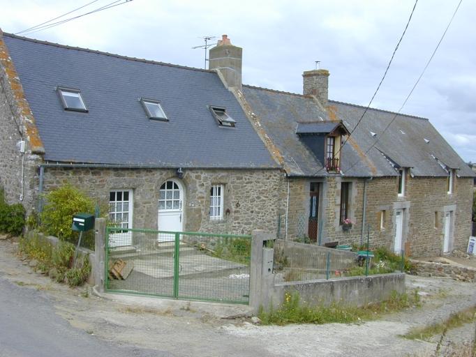 Ferme, la Riaudais (Saint-Coulomb)
