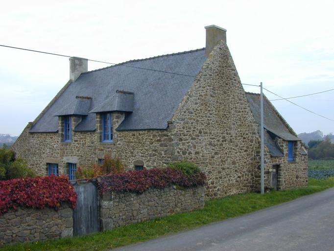 Maison, le Champ Ravenel (Saint-Coulomb)